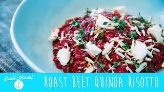 How to make Roast Beetroot Quinoa Risotto