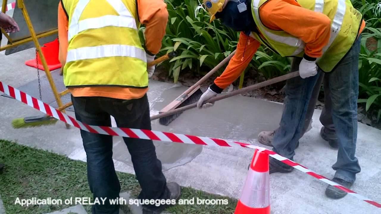 Восстановитель бетон луга по бетону