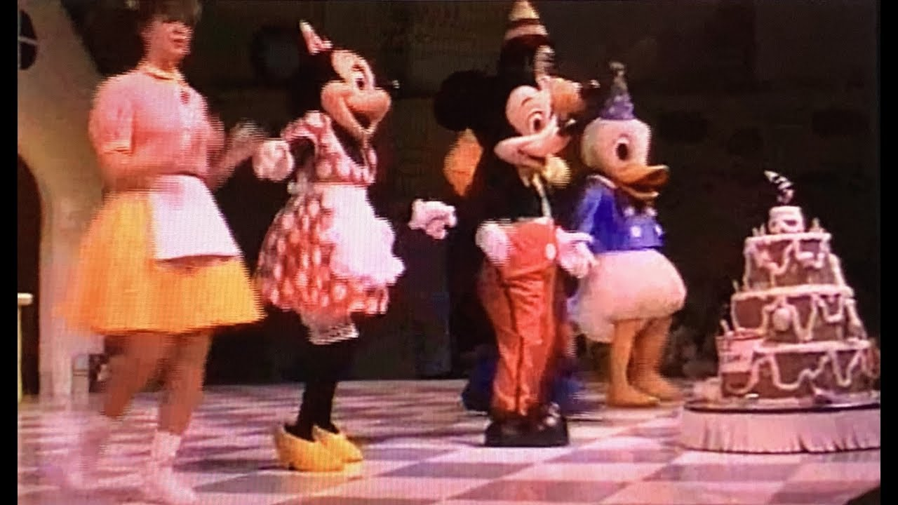 Mickey Mouses Birthday Party Disney World 1990 YouTube