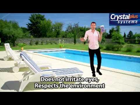 Crystalplus for easy pool maintenance - YouTube
