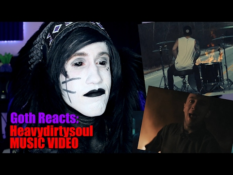 Goth Reacts to twenty one pilots: Heavydirtysoul [OFFICIAL VIDEO]