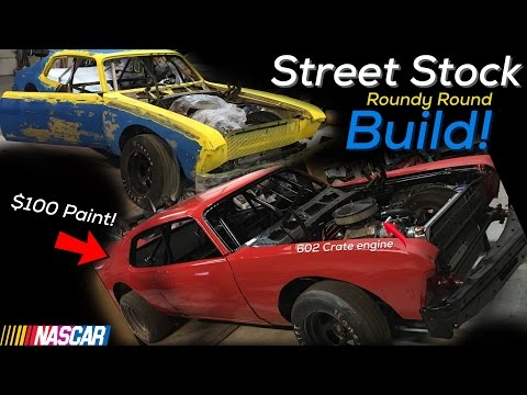 Pt.1 | Aarons Street stock build | Paint!