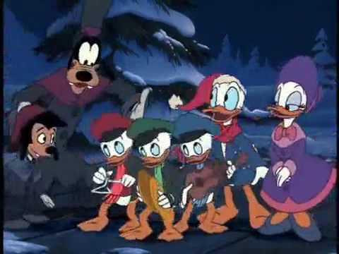 Mickey Donald Christmas Carol Video Youtube