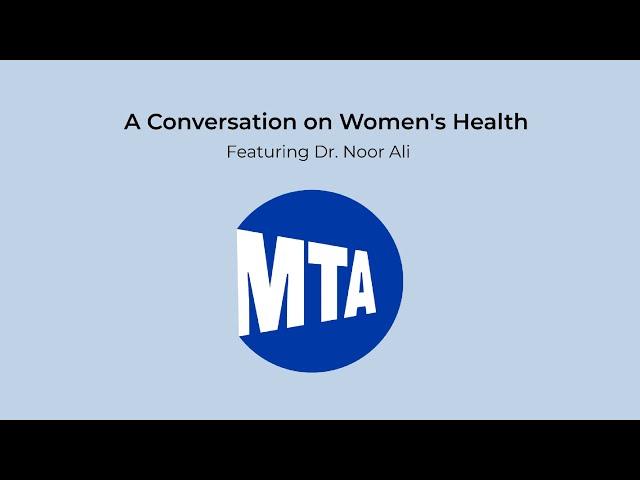 A Conversation on Women's Health