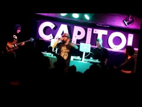 Factor Chandelier - Snaps - feat. Kay the Aquanaut - LIVE @ Capitol Music Club - 23rd April 2016