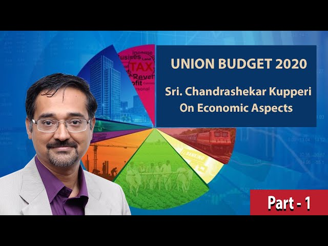 Part 1 Discussion on Union Budget 2020