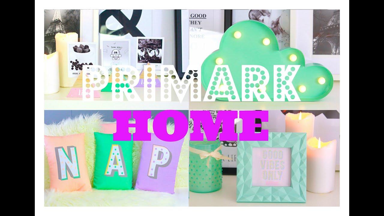 Primark Home Accessories Ss2016