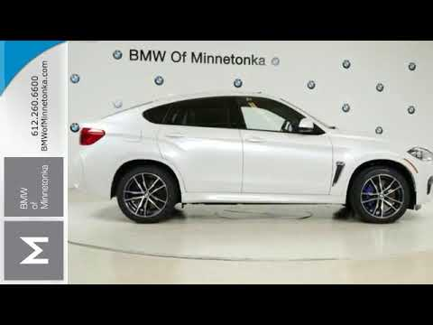 New 2017 BMW X6 M Minnetonka MN Minneapolis MN B2718  YouTube