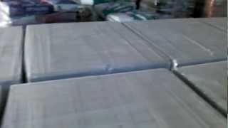Пазогребневые плиты на складе ПГП 80*500*667 полнотелый