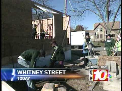 RIT on TV News: Habitat House