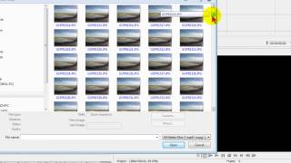 Creating time lapse videos from photos with Sony Vegas Movie Studio