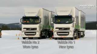 Nokian Truck Tyres Test Event 2012, Ivalo Lapland (in English)