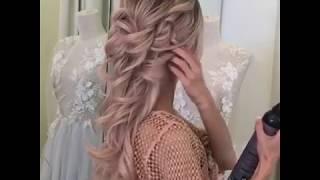 Прическа на свадьбу своими руками