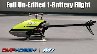 Vidéo: OMPHobby M1 RC Helicopter BNF