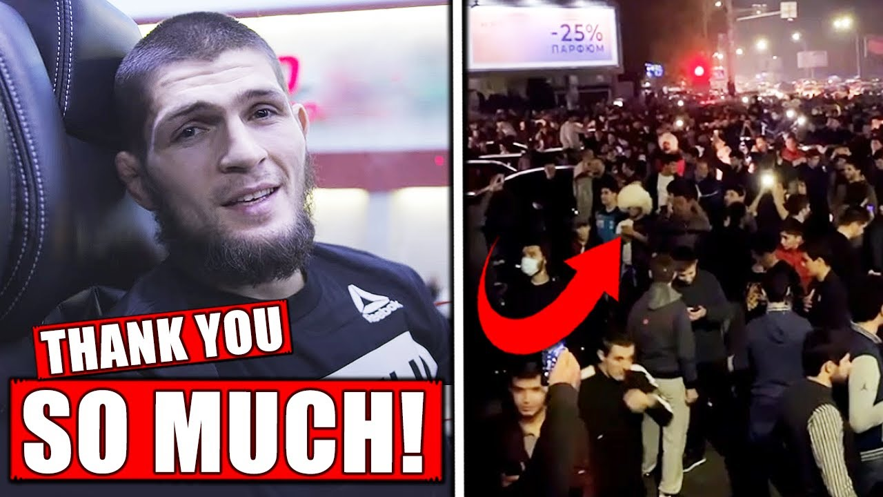 Jon Jones Lectures Khabib Fans, I'm the G.O.A.T. and It's Not Close!