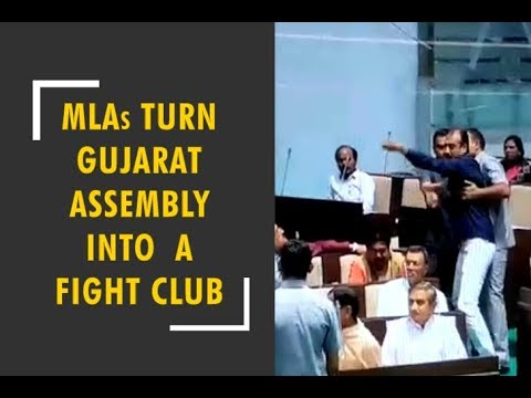 MLAs turn Gujarat Assembly into a fight club