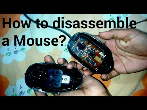 How To Open A Logitech Wired Mouse? @ER
