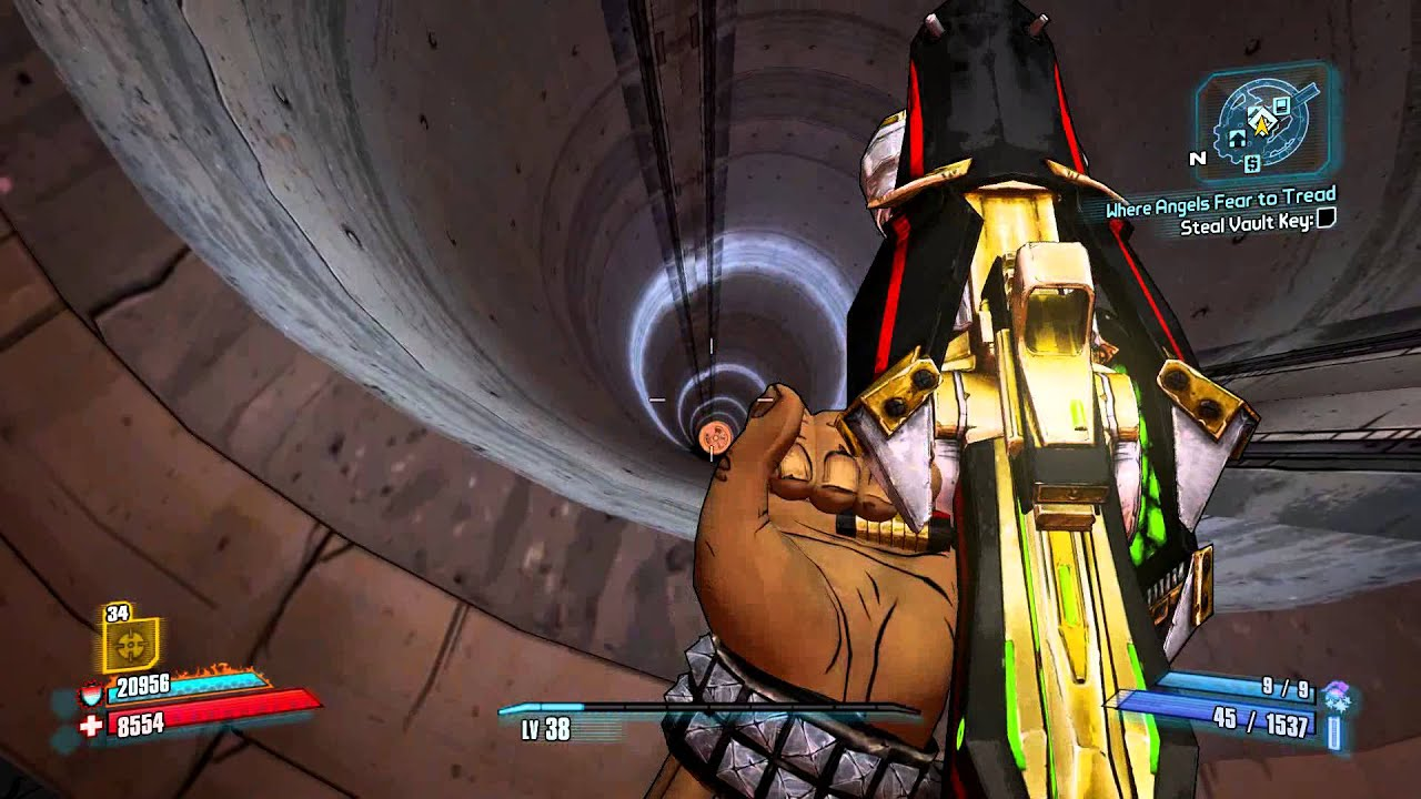 Borderlands 2 Scary Elevator High Jump 1080p Youtube