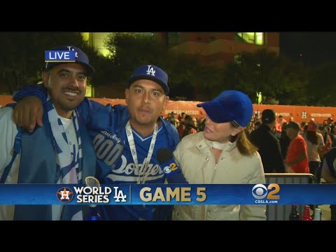 Dodgers Fans In Houston Looking Forward To Halloween Game 6 In LA