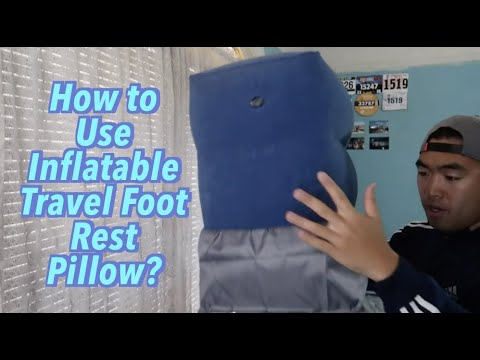 Is ZIQIAN Inflatable Travel Foot Rest Pillow Worth It?