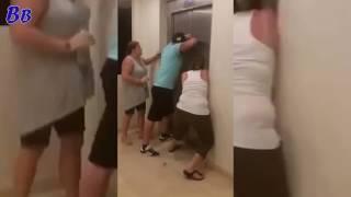 Чувак застрял в Лифте - Пришлось Ломать Двери