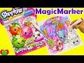 Shopkins Magic Marker Imagine Ink Game Booklet with Surprises