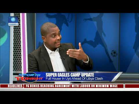 Super Eagles Camp Update: Full House In Uyo Ahead Of Libya Clash |Sports Tonight|