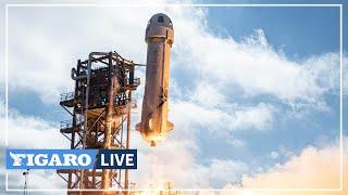 🔴 Revivez le décollage de Jeff Bezos pour l'espace 🚀