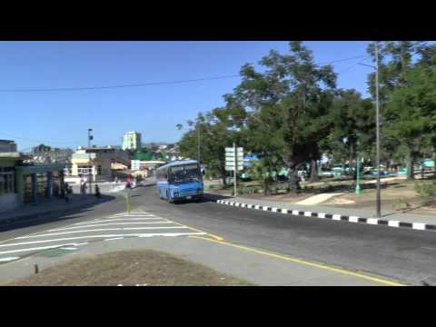 SANTIAGO DE CUBA BUSES JAN 2015