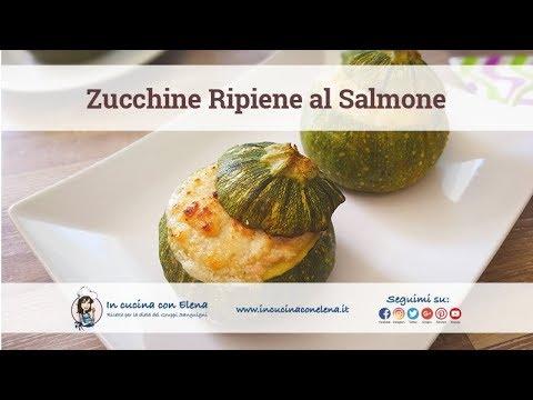 In cucina con elena videolezione di cucina zucchine ripiene al salmone youtube - In cucina con elena ...
