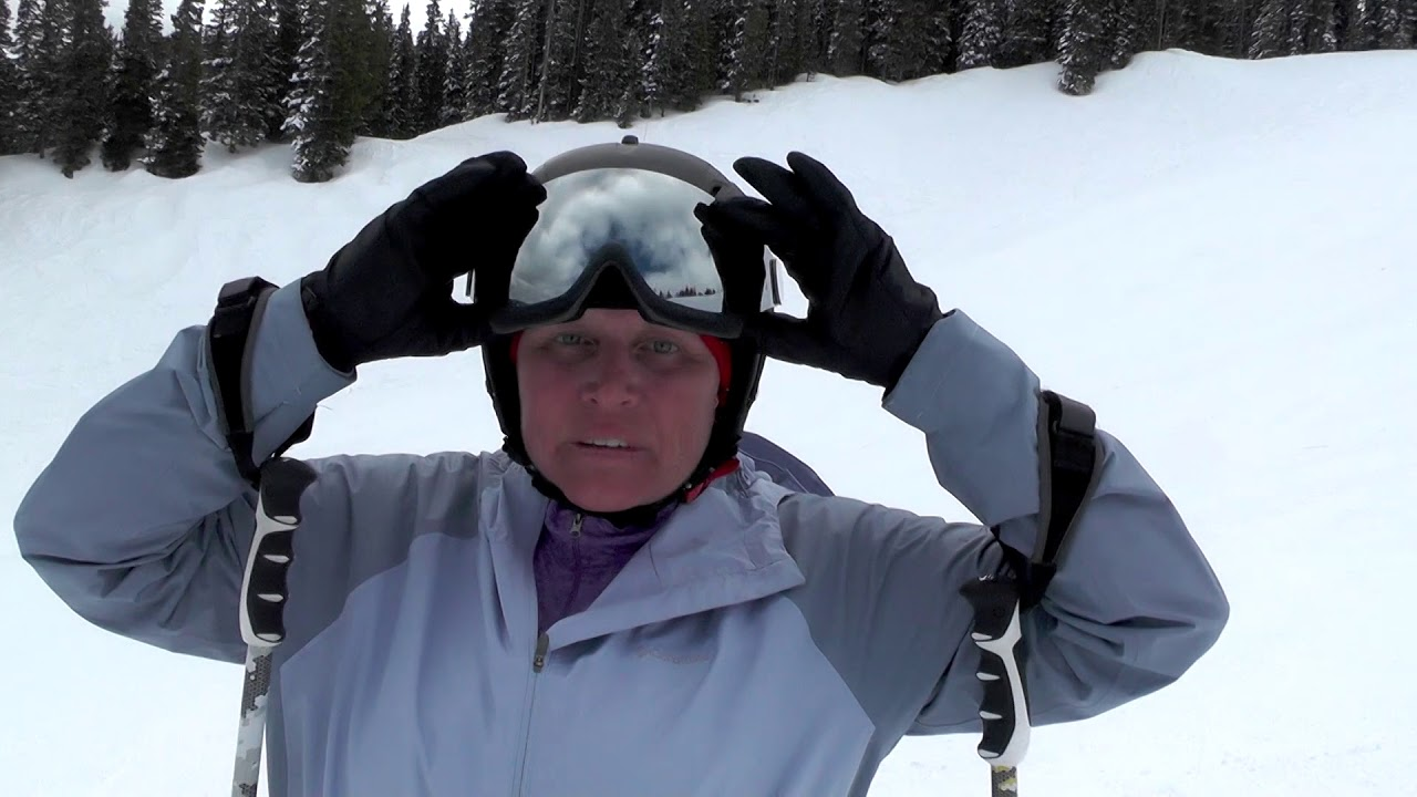 3564f55145be Bolle Visor Helmet Review - YouTube