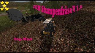 Link:https://www.modhoster.de/mods/jcb-stumpenfrase  http://www.modhub.us/farming-simulator-2017-mods/jcb-stump-cutter-v1-0/