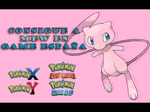 Consigue a Mew en GAME ESPAÑA - Pokémon XY/Pokémon ROZA