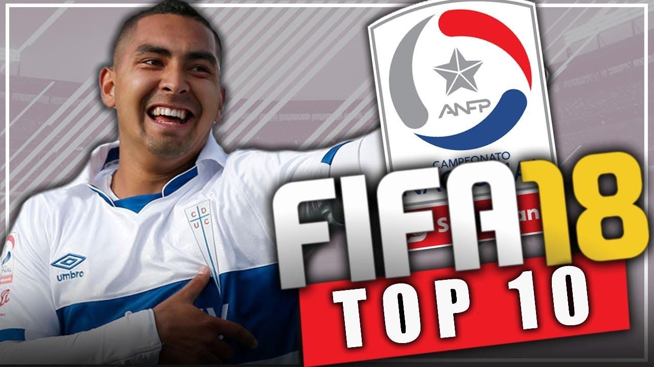 Fifa 18 jovenes promesas de la liga chilena modo for Esteban paredes fifa 18