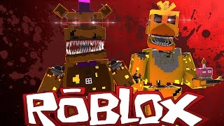 Roblox Adventures / SCARIEST FNAF ANIMATRONICS EVER ?! / Realistic FNAF Nightmare