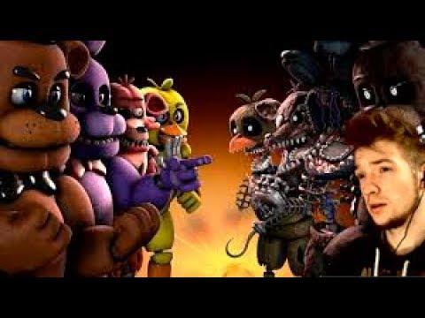 САМАЯ ЖЕСТКАЯ НОЧЬ   Five Night at Freddy's