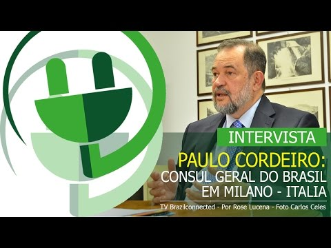 INTERVISTA AL CONSOLE GENERALE DEL BRASILE A MILANO