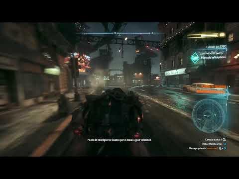 Guía - Batman Arkham Knight: Interroga al conductor del vehículo militar para optener imformacion