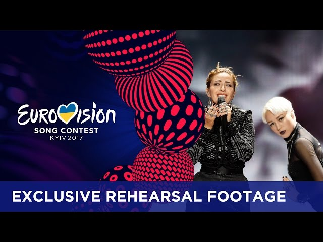 Artsvik - Fly With Me (Armenia) EXCLUSIVE Rehearsal footage