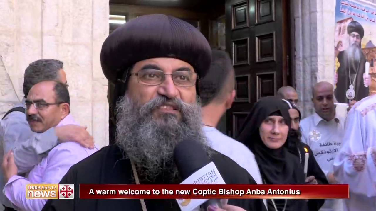 A warm welcome to the new coptic bishop anba antonius youtube kristyandbryce Image collections