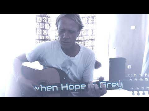When Hope is Grey Acoustic Music Video by 12 String Guitarist Ylia Callan