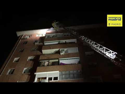 Incendio vivienda C/Canal del Bósforo