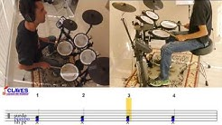 Seven Nation Army - How to play on drums