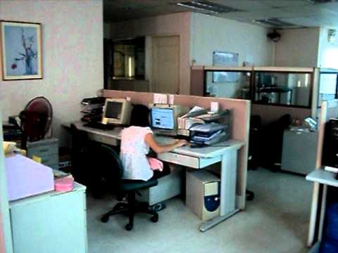 office work hard working employee - YouTube