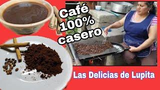 Como hacer tu propio café 100% casero | café orgánico | café de rancho