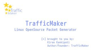 Ostinato Network Traffic Generator