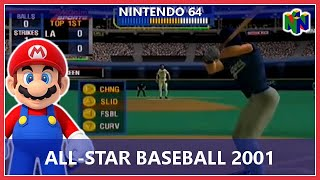 All-Star Baseball 2001 (Nintendo 64)