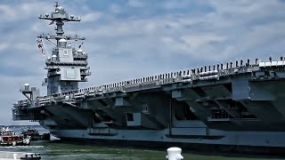 Aircraft Carrier PCU Gerald R. Ford Completes 1st Sea Trials
