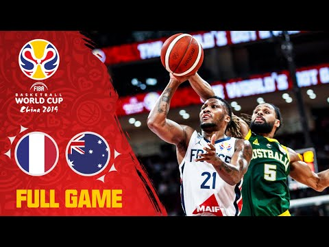 France Take The Bronze From Australia's Grasp - Full 3rd Place Game - FIBA Basketball World Cup 2019