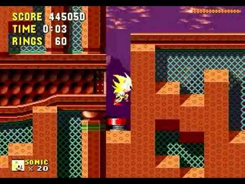 Sonic The Hedgehog Open Source Project (Genesis) - Longplay
